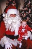 lindsey and santa